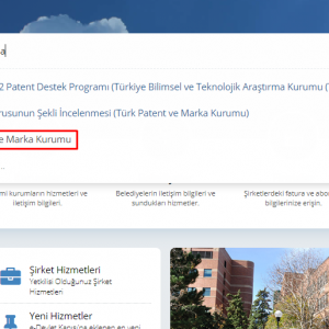 e-devlet patent sorgulama 2. aşama